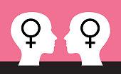 Women Gender Symbols Head