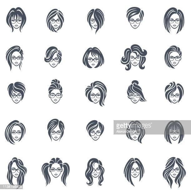 Women Icon Faces