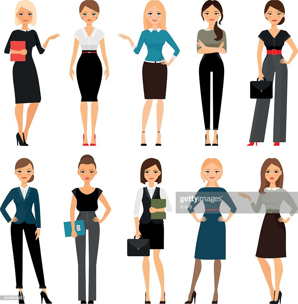 Women in office clothes