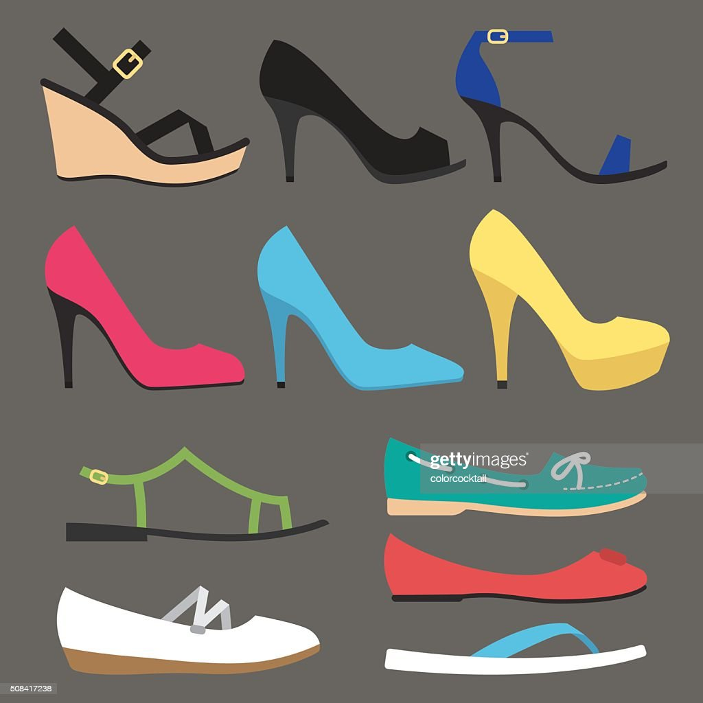 Women shoe types