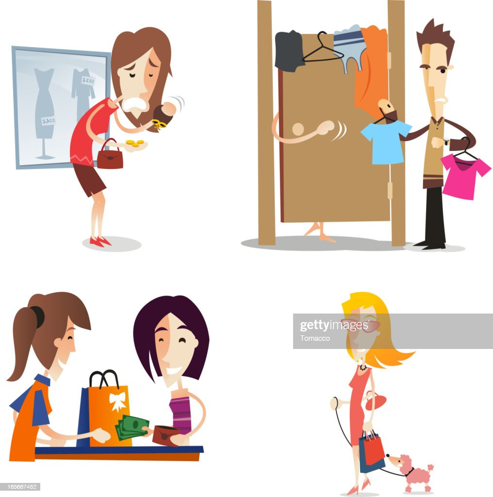 Women shopping set