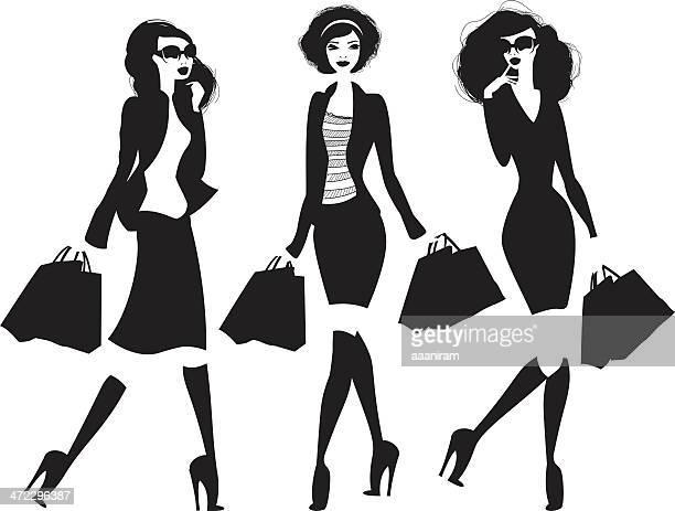 Mujeres de compras