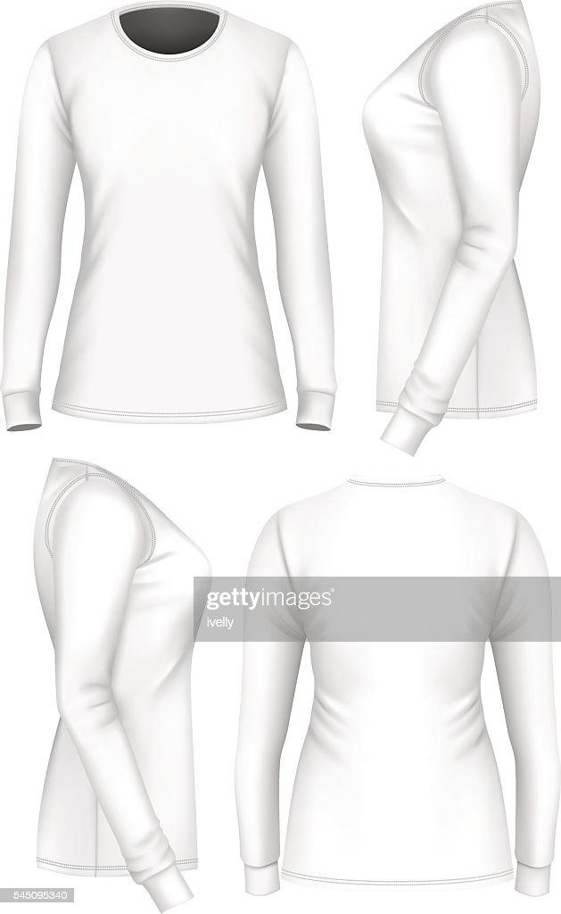 Women t-shirt long sleeve.