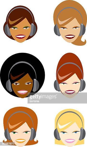 Women With Headphones
