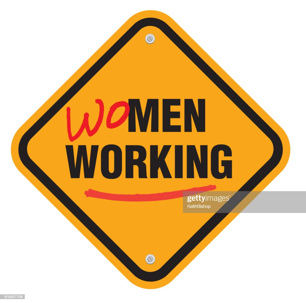 Women Working Equality Sign Symbol Typescript Vector Art Getty Images