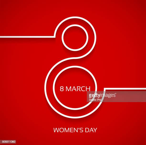 women's day design background - day stock illustrations