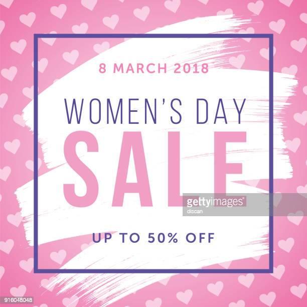 ilustrações de stock, clip art, desenhos animados e ícones de women's day design for advertising, banners, leaflets and flyers. - dia internacional da mulher