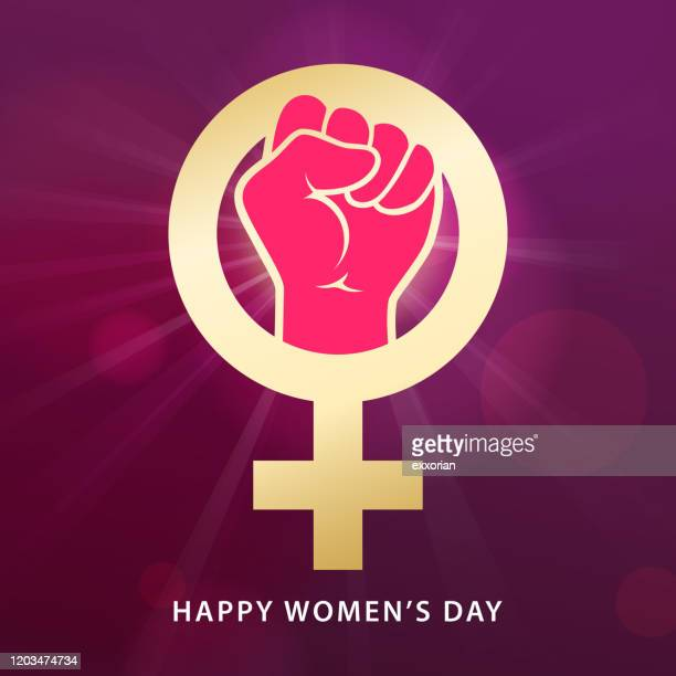 women's day feminism - women's rights stock illustrations