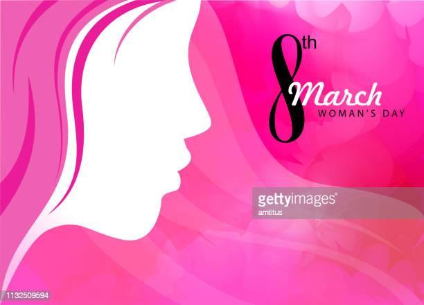 stockillustraties, clipart, cartoons en iconen met vrouwendag - internationale vrouwendag