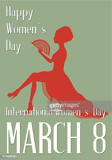 stockillustraties, clipart, cartoons en iconen met women's day - internationale vrouwendag