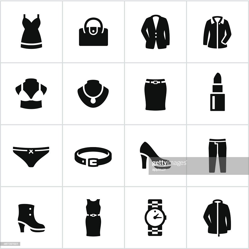 Womens Formal Wear Icons