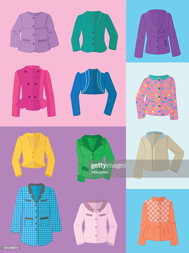 Women's jackets for spring and summer