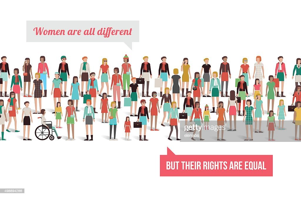Women's rights banner