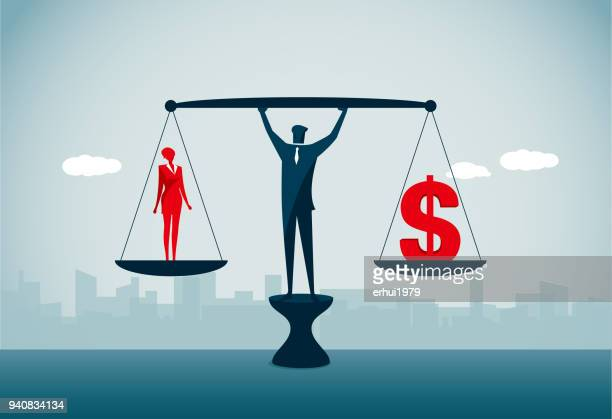 women's rights - equal opportunity stock illustrations, clip art, cartoons, & icons