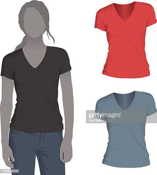 Short Sleeved Stock Illustrations Getty Images