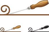 Wood Chisel Icon