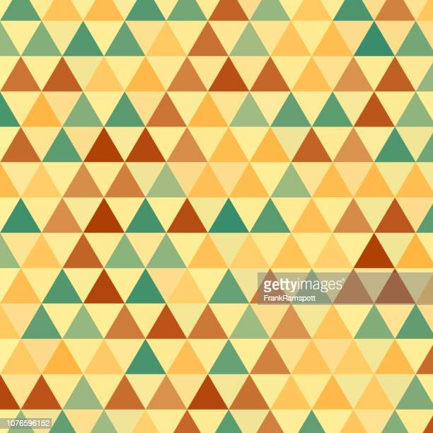 Vektormuster Holz gleichseitiges Dreieck
