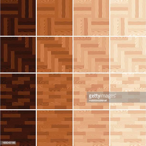wood flooring - hardwood floor stock illustrations, clip art, cartoons, & icons