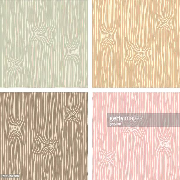 wood grain texture in vintage color - wood material stock illustrations