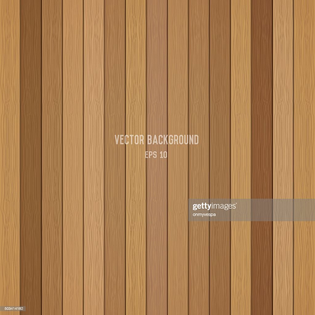 Wood plank background. Vector eps10