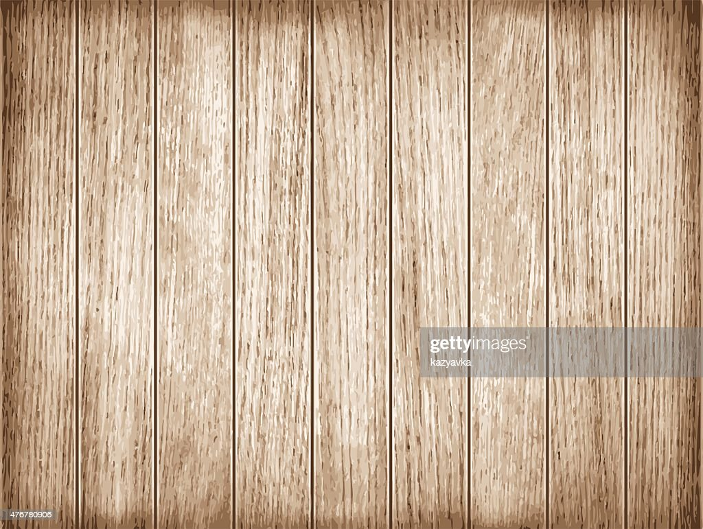 Wood plank texture. Vector