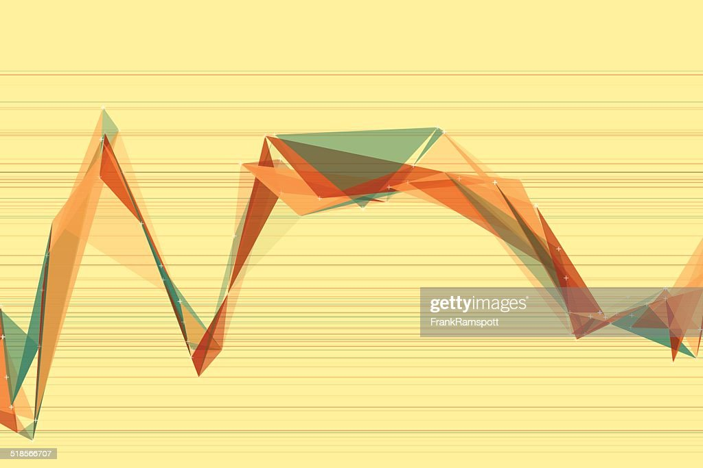 Wood Polygon Triangle Diagramm : Stock-Illustration