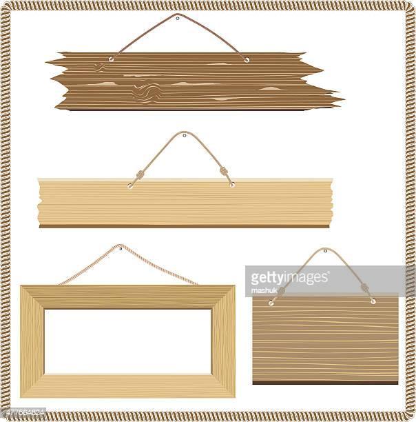 木の看板 - 西点のイラスト素材/クリップアート素材/マンガ素材/アイコン素材