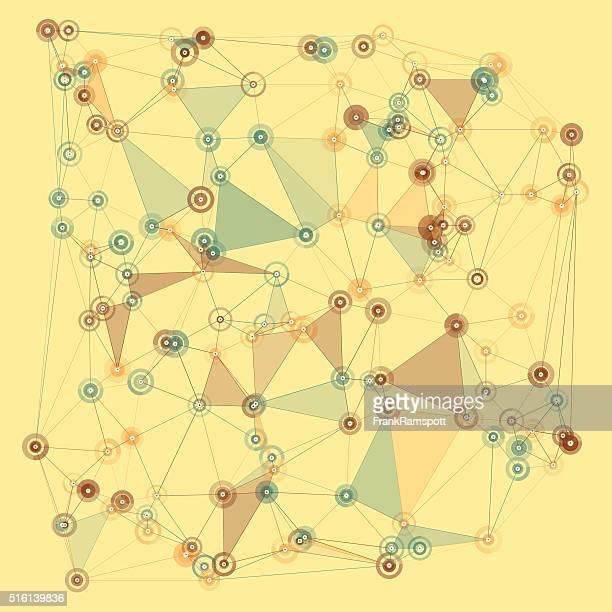holz vektor polygon-muster - frankramspott stock-grafiken, -clipart, -cartoons und -symbole