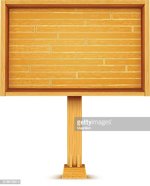Wooden Billboard