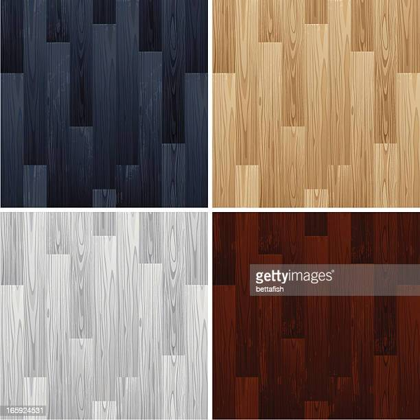 wooden floors - hardwood floor stock illustrations, clip art, cartoons, & icons