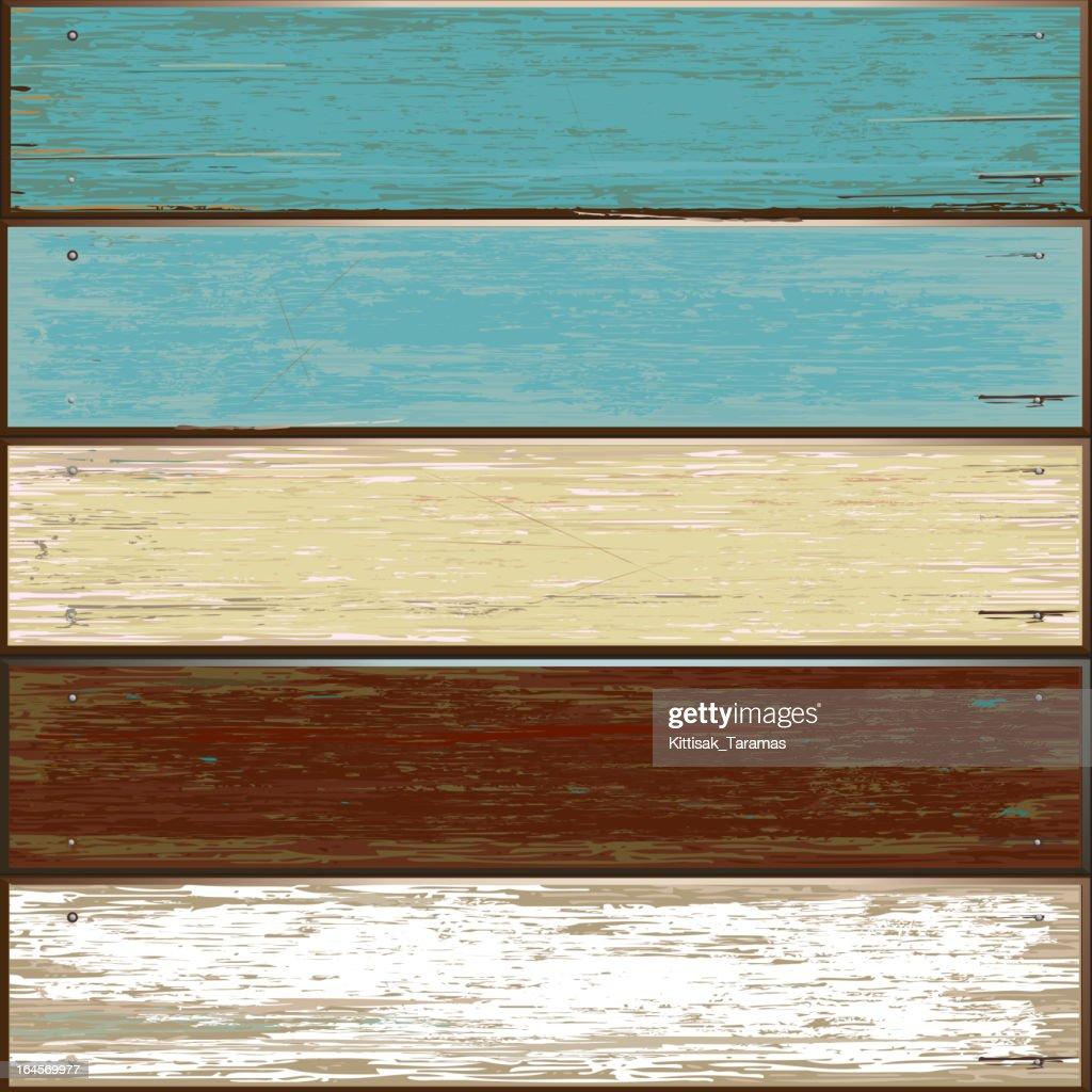 Wooden pattern old color background.