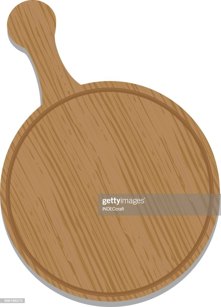 Wooden Pizza Plate  Vector Art  sc 1 st  Getty Images & Wooden Pizza Plate Vector Art | Getty Images
