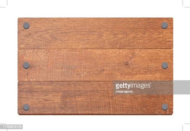 wooden sign - wood material stock illustrations