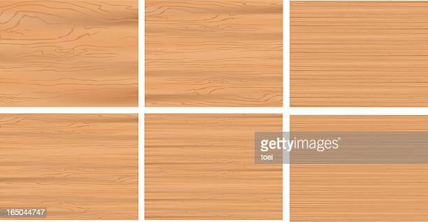 wooden texture - wood grain stock illustrations