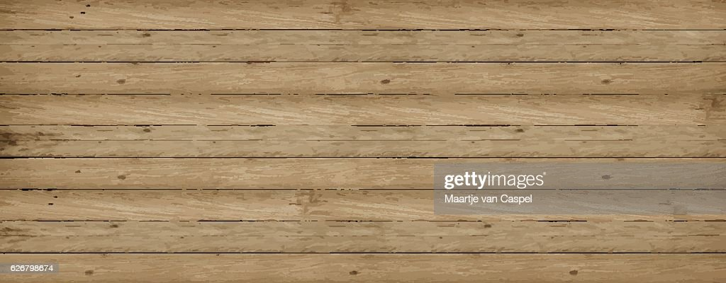 Wooden Vector Background Texture
