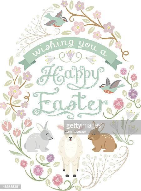 Woodland Easter Egg