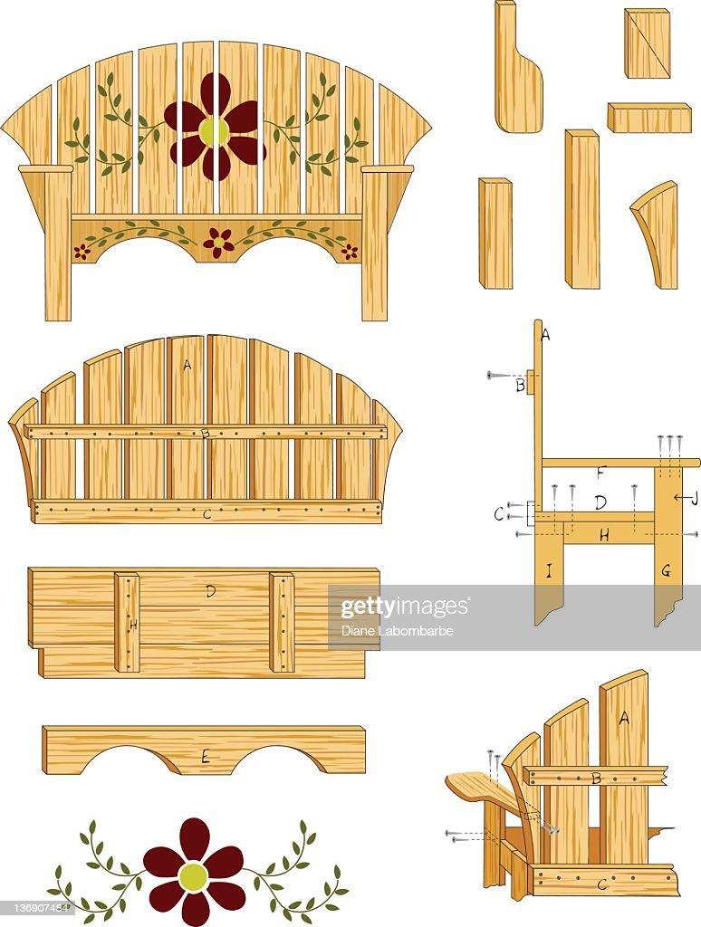 Woodworking Plans : Stockillustraties