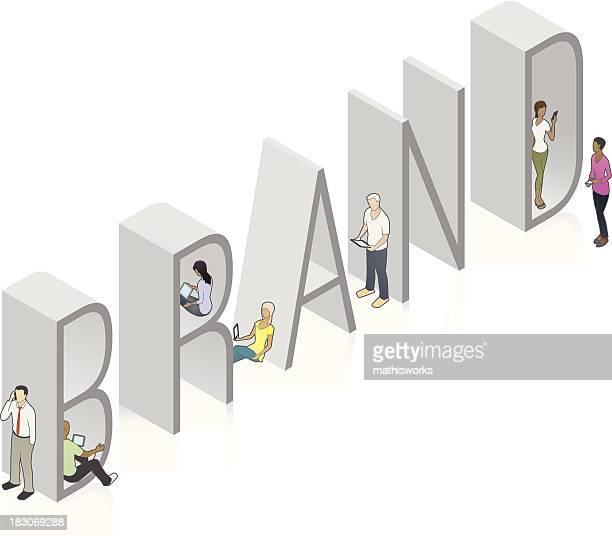 brand word art - adulation stock illustrations, clip art, cartoons, & icons