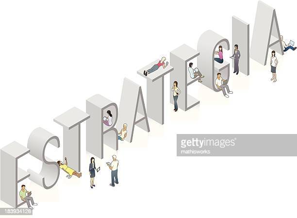 ESTRATEGIA Word Art