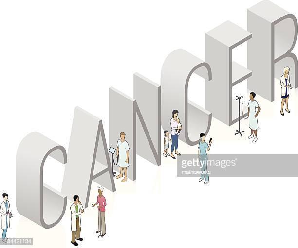 krebs wörter art - cancer illness stock-grafiken, -clipart, -cartoons und -symbole