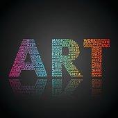 ART. Word association