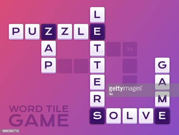 Word Tile Crossword Puzzle Game
