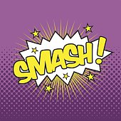 SMASH! Wording Sound Effect