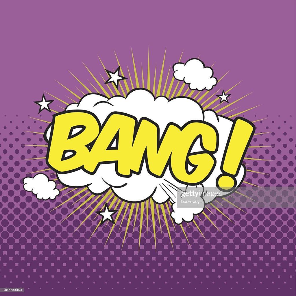 BANG! Wording Sound Effect