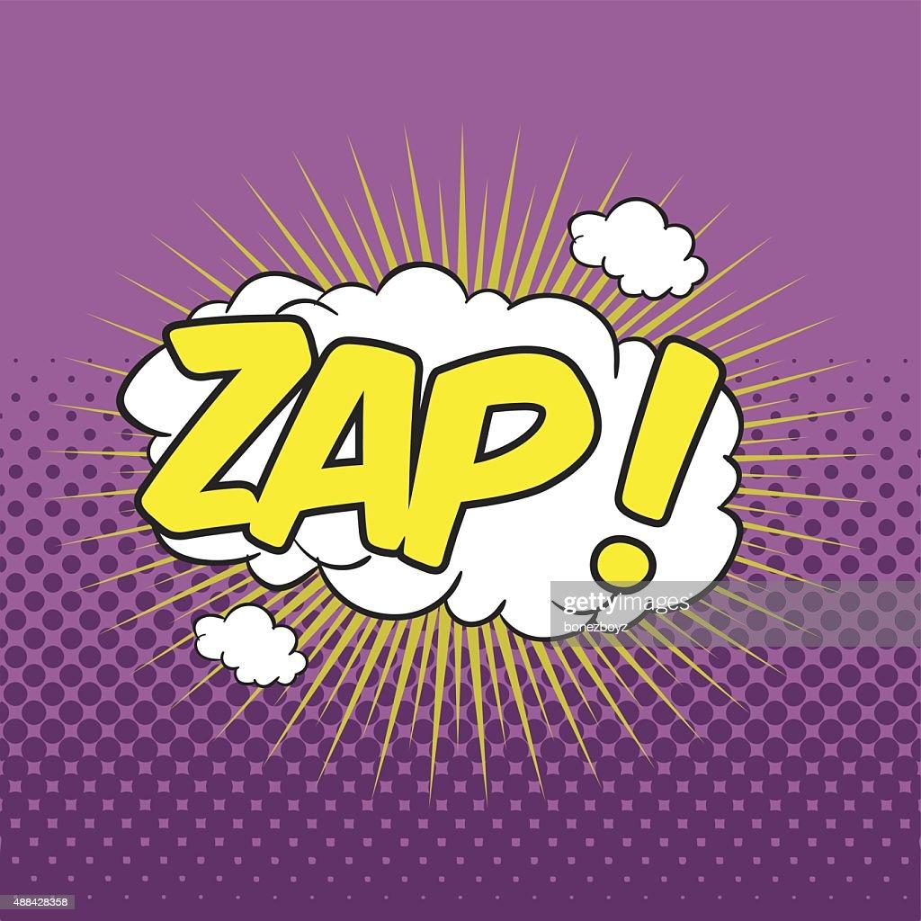 ZAP! Wording Sound Effect