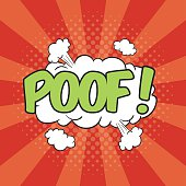 POOF! Wording Sound Effect