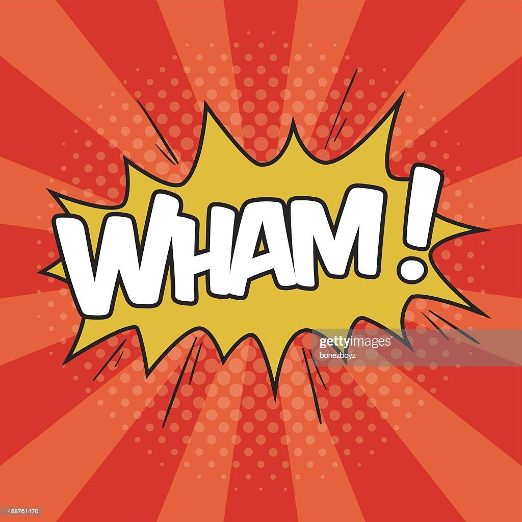 WHAM! Wording Sound Effect