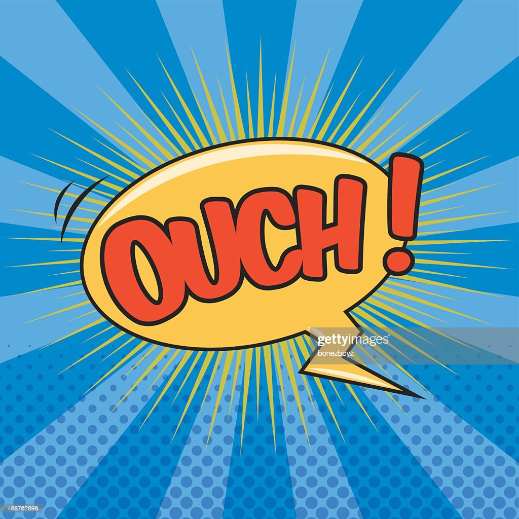 OUCH! Wording Sound Effect