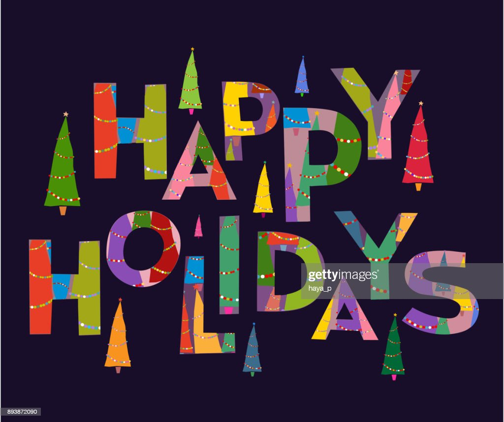 Words background happy holidays text words xmas and merry words background happy holidays text words xmas and merry christmas holiday greetings with decoration kristyandbryce Image collections