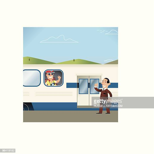 Work and Vacation Train